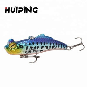 Luresfactory 65mm 12g Mirror VIB Hard Plastic Lures Artificial Bait Vibration Bait Fishing Lure V065