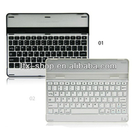 Hot blutooth keyboard with magnetic slot for iPad air keyboard case