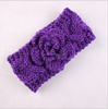 baby knit headbands, wool flower headbands for teen girls, flower headband for kids
