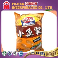 65g stylish fish shape crackers private label potato crisps halal snacks