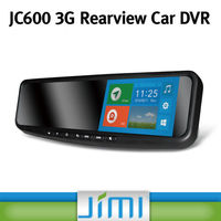 Newest android 4.2 car dvd with gps LCD HD 720p mobile car dvr 3g with rearview mirror JC600