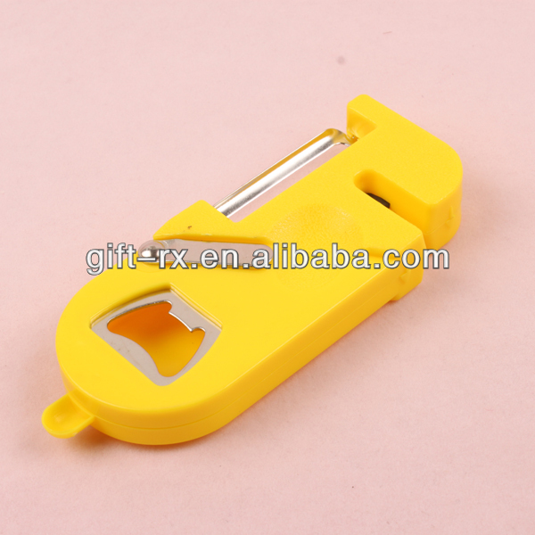multifunction plastic bottle opener