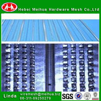 Galvanized high ribbed formwork for Construction Use