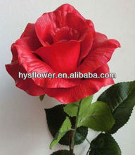 Red roses Big PU roses Long stem roses with free gift attached