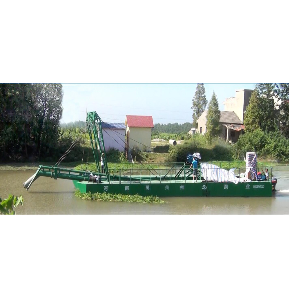 mining mini gold suction dredge boat for sale
