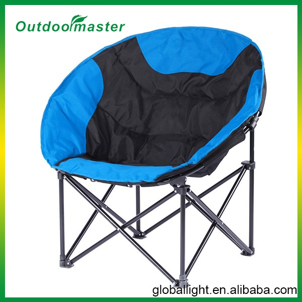 folding adult camping moon chair view moon chair outdoormaster product details from ningbo. Black Bedroom Furniture Sets. Home Design Ideas