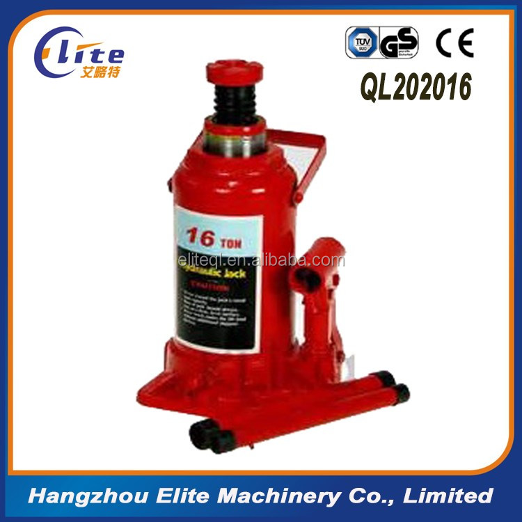 Wholesale Factory Price 16 ton Hydraulic Bottle Jack Repair with CE GS