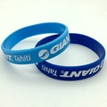 Promotional gifts  debossed Glow in the Dark Silicone Wristband  bracelets