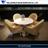 artificial stone conference room tables and chairs