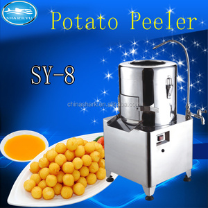 international food machinery vegetable potato peeling machine
