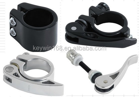 Bicycle Aluminum Clamp by cnc machined with high strong aluminum alloy 7075-T6