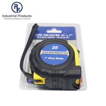 Good quality steel and ABS 25ft tap measure round shape measuring tape