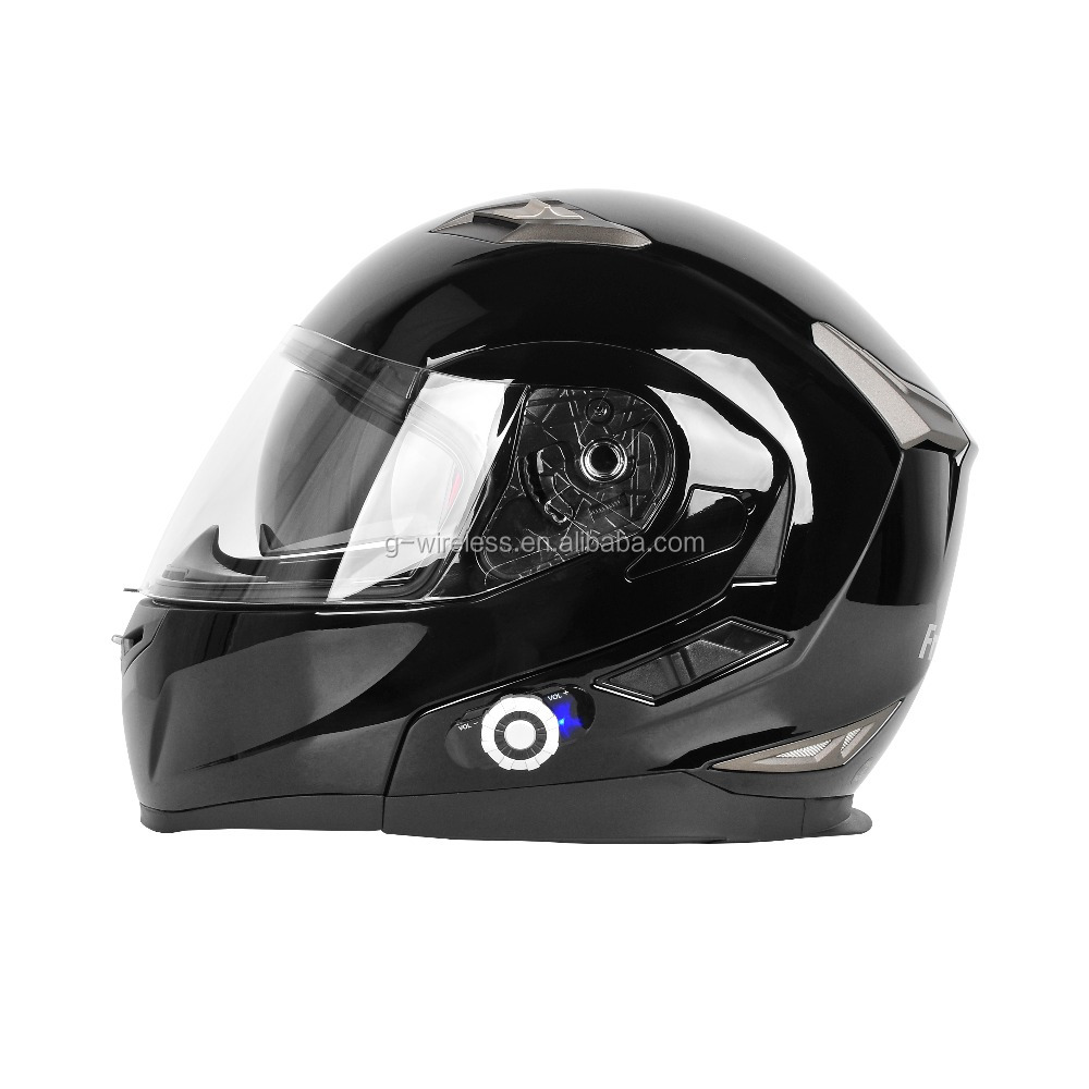 Flip up Helmet inside Bluetooth intercom 955 Motorcycle Helmet