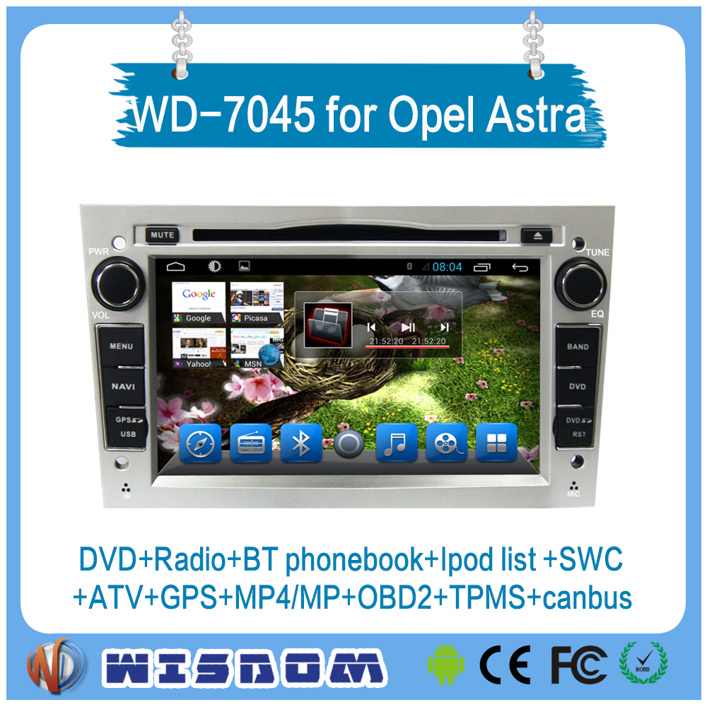 New car dvd player for Opel Antara/Zafira/Veda/Agila/Corsa/Vectra opel astra H car radio media player android system touch swc