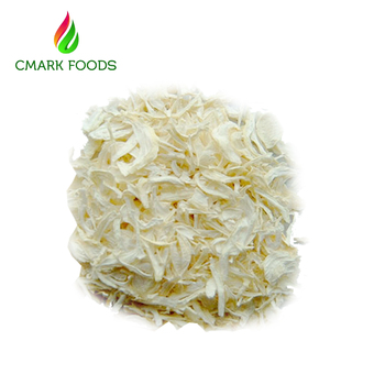 White dried onion chopped new crop