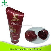 collapsible aluminum tubes cosmetic airless hand cream tube