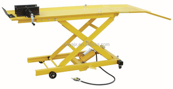 800LBS foldable hydraulic Motorcycle lift(1000LBS) have CE