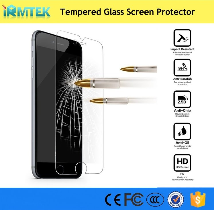 9H 0.3mm Ultra Clear Premium Tempered Glass Screen Protector for iPhone 7 / 7 Plus