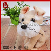 2014 new product soft toy stuffed schnauzer plush puppy dog