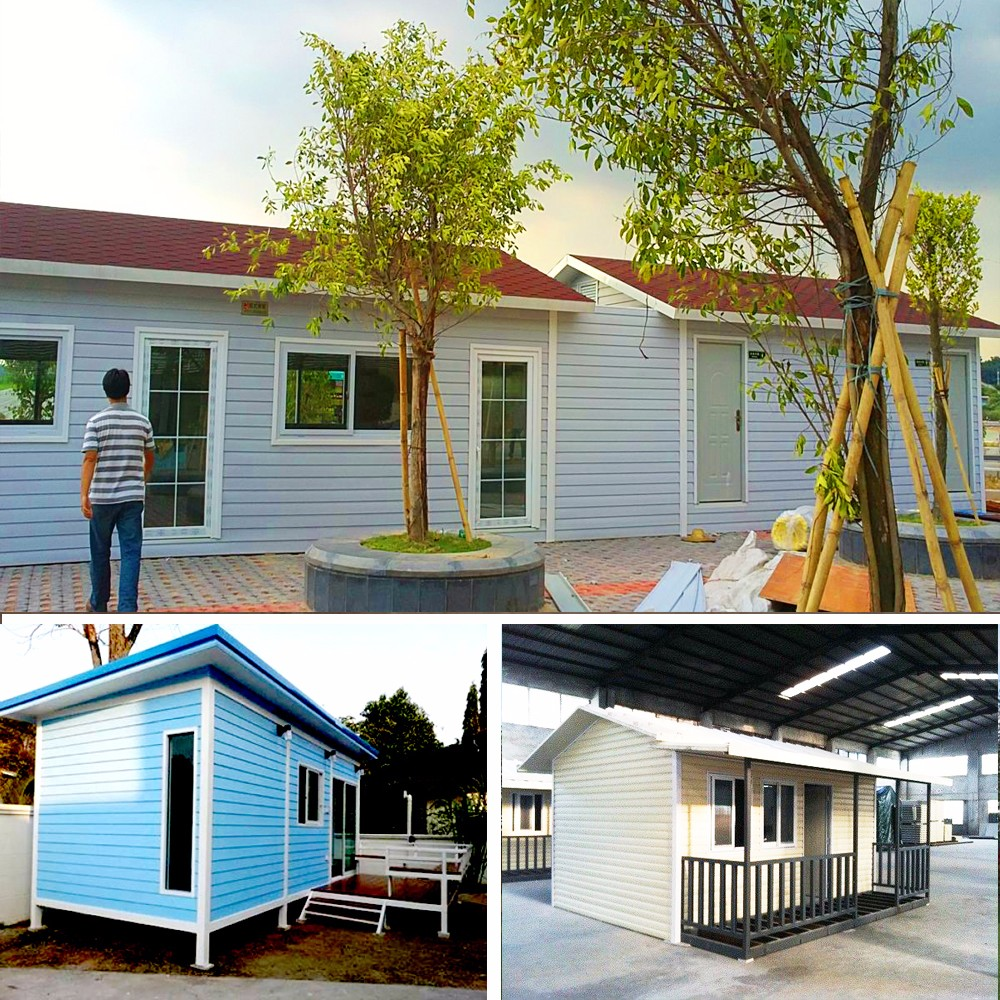 Qualified steel prefabricate factory types of prefab houses