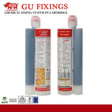 Construction grout acrylate resin wet holes used epoxy 3:1 structural adhesive