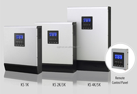 KS-3000VA Solar Power Inverter with Built-in PWM Solar Charge Controller