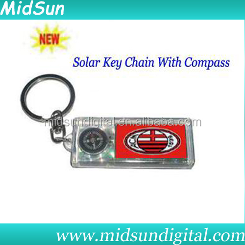 lcd solar flashing keychain,solar powered keychain charger,led solar keychain light