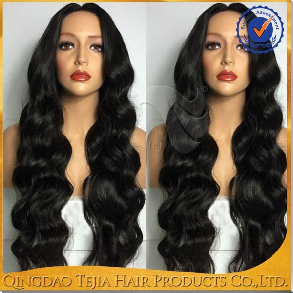 Factory wholesale cheap 8A silk top full lace malaysian body wave hair wig