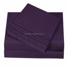 Wholesale Star Hotel Bedding 100 Cotton Satin Bed Sheet Fabrics