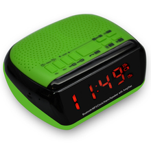 China 12 years gold supplier Nature Sounds Alarm Am/Fm Clock Radio Bluetooth Clock Radio