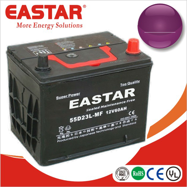 12v lithium ion car battery 55d23l mf car battery 40ah ~ 150ah for auto and vehicle