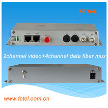 Video Digital Optical Converter, 1 Channel rs232 data video converter