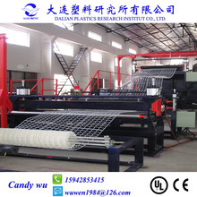 Plastic Square Mesh Machine