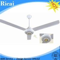 Passive Noise Reduction Technology CE CB iron blades eco ceiling fan