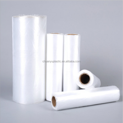 high quality plastic transparent freezer bags on roll