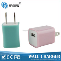 MEOUAN 5v 1a US plug universal travel adapter with usb charger