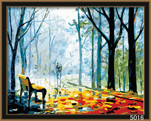 famous world diy tree painting by numbers