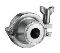 Food Grade, SS304, 3A, Sanitary, Clamp End, Stainless Steel, Check Valve