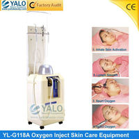 (YL-G118A)--YALO Jet Peel beauty useful oxygen apparatus