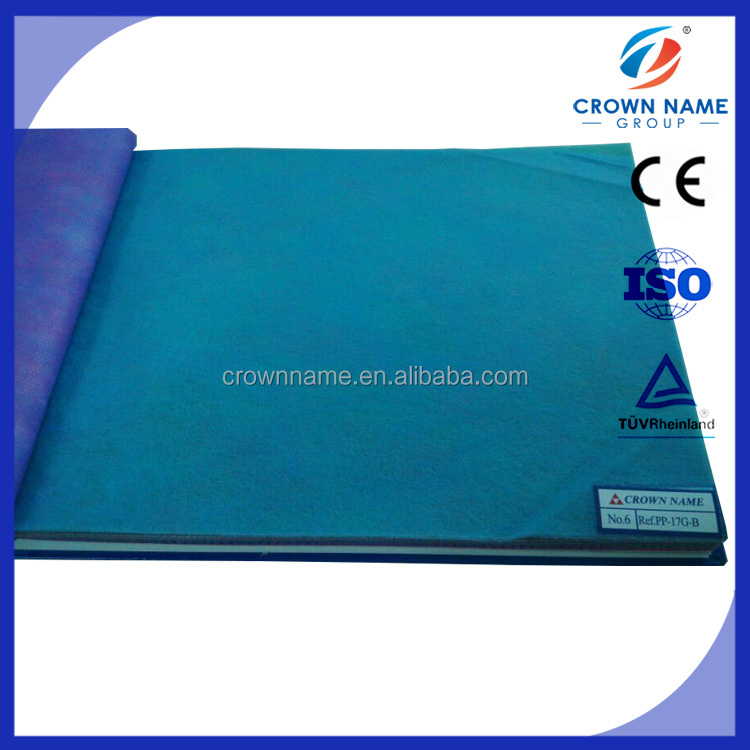 PP disposable blue nonwoven fabric