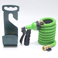 50ft Expandable Garden Hose - IMPROVED Water Hose Flexible Expanding Hose with 8 Function Spray Nozzle