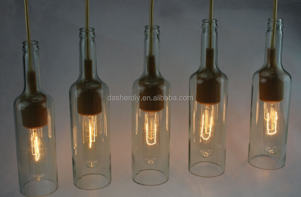 creative decoration home indoor vintage ceiling lamp Modern Glass Pendant Light for bars