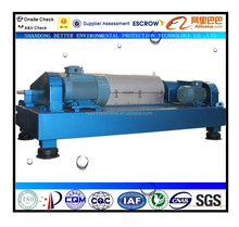 horizontal screw centrifuge for chemical/paper/mine slurry dewatering