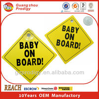 car board sign sticker