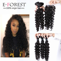 Top quality Full cuticle intact aligned 100% 10a brazilian virgin hair deep wave
