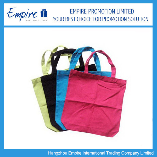 Promotional China Blank Canvas Wholesale Tote Bags