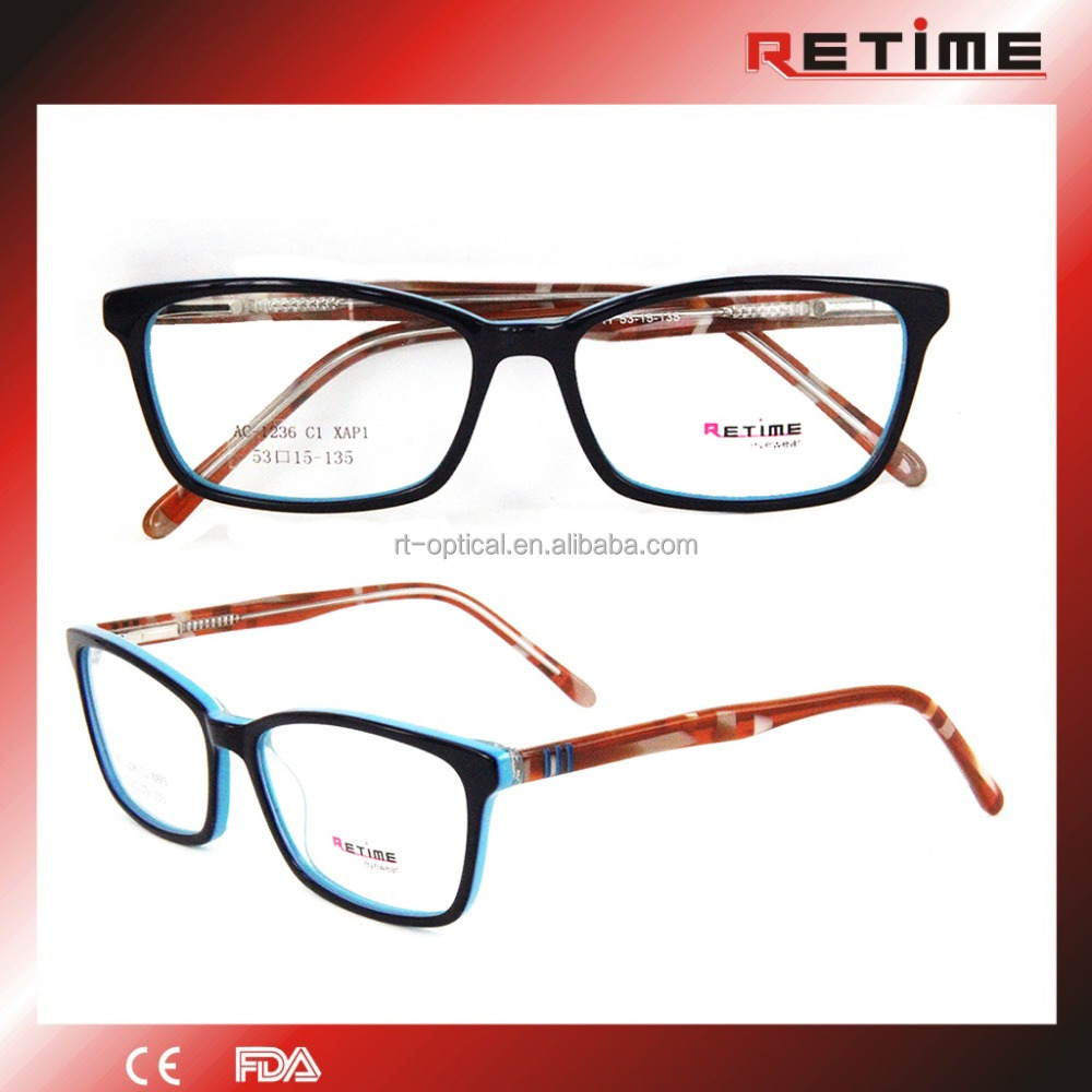 Rectangular Optical Eyewear Frames Glasses For Teenagers ...