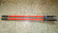 Post Hoe Digger, Transplanter, wood/fiberglass handle, manufacture in China