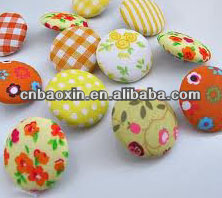 Fashion cloth covered buttons for garment