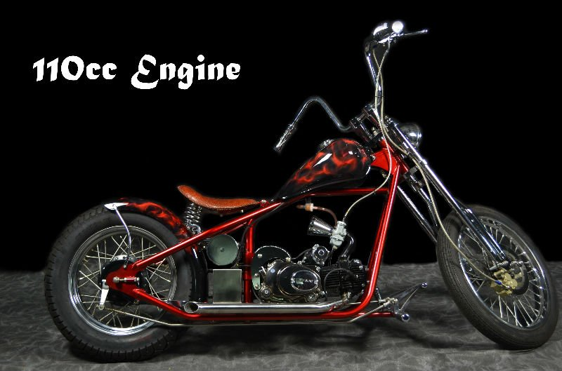 ACZ110 Chopper motorcycle